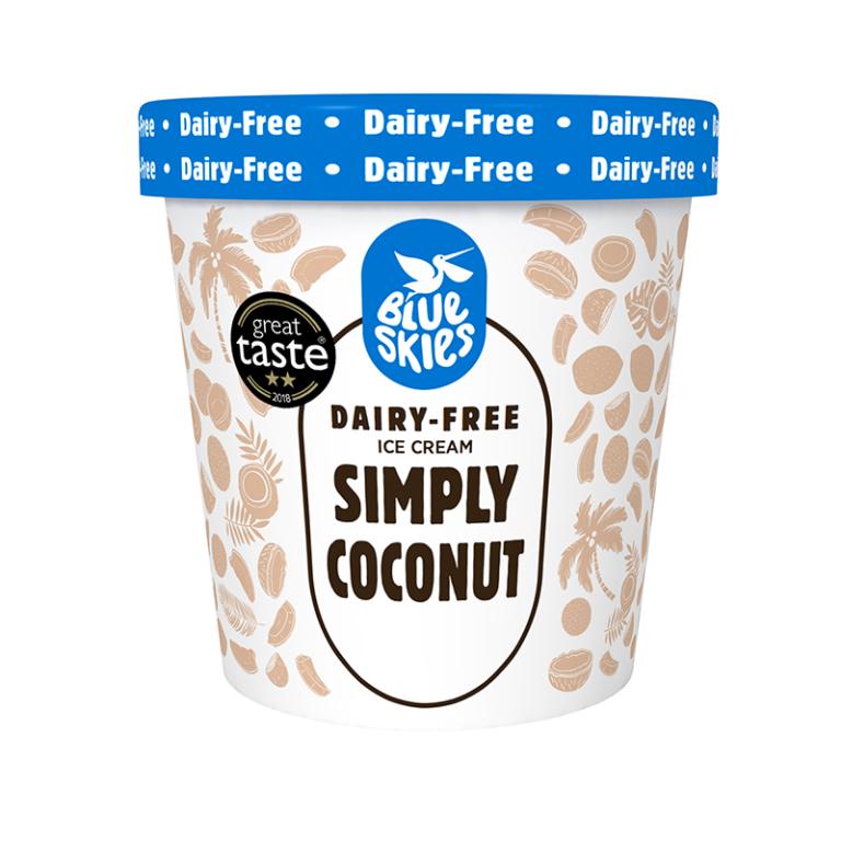 Simply Coconut Ice Cream