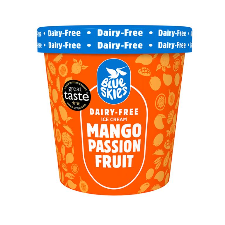 Mango & Passion Fruit Ice Cream