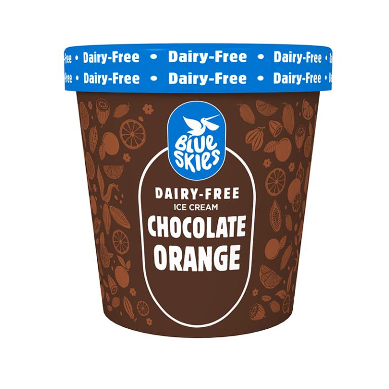 Chocolate & Orange Ice Cream