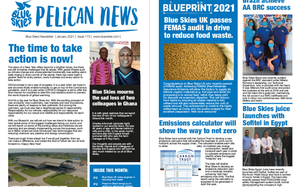 Download the January edition of Pelican News
