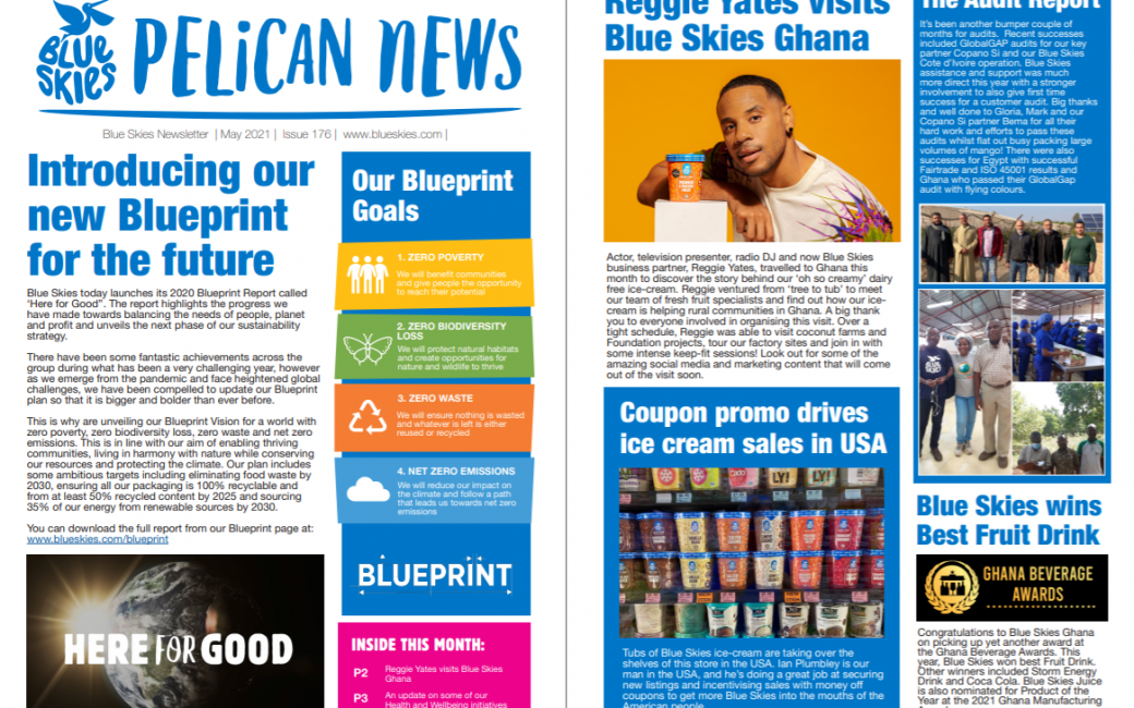Download the May edition of Pelican News