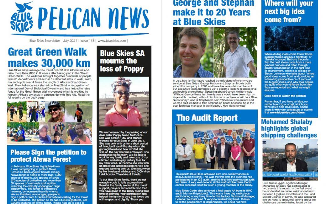 Download our July Newsletter